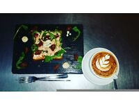 Experienced local baristas and waiting staff full and part time for bakery cafe in Balham