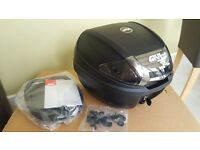 New Givi E300 top box and mounting plate