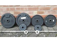 DOMYO 40KG CAST IRON WEIGHTS SET