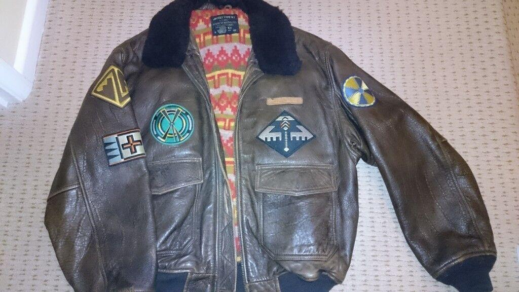 273d25448d1 Avirex G1 vintage bomber jacket