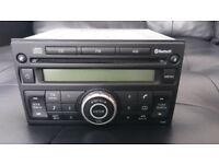 Nissan Note Juke Micra CD Bluetooth head unit PN-2805L