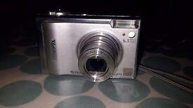 Fuji F10 6.3MP Camera. Excellent Condition. Massive Memory Card Capacity, All accessories included.
