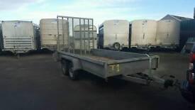 2010 indespension 12ftx6ft utility rampTailgate trailer no vat
