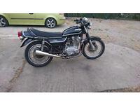 classic motorcycle kawasaki z750 twin (kz750b) bike