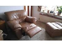 Reclining Leather Suite