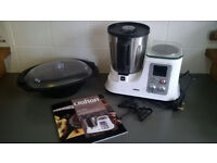 Crofton MultiChef Food Processor/Mixer/cooker/steamer/blender.. with recipe book