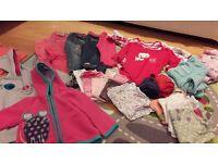 12-18 month girls clothes bundle