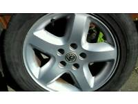 Vauxhall omega alloys