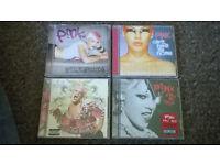 4 P!nk CD Albums