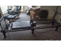 Pilates 4300 machine and stand