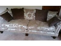 Beautiful, like new, four-seat sofa
