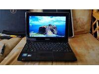 zoostorm freedom 10-270 windows 7 2g memory 250g hard drive wifi webcam charger