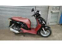 Low Mileage Honda PS 125 Scooter