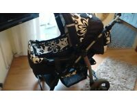 pram carry cot pushchair