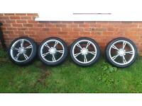 Seat Leon fr wheels will fit vw Audi skoda