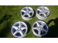 toyota 15 inch alloy wheels 195/60/15 corolla, auris, yaris, aygo, avensis