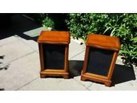 Speaker cabinets wooden