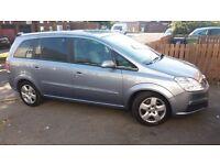 Vauxhall zafira CDTI (7 seater) Diesel
