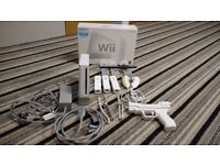 Nintendo Wii & Wii Fit with games