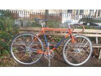 Vintage Reynolds 531 Single Speed Road/Touring Bike Size 54