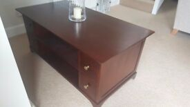 John Lewis Coffee table with drawers