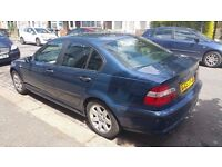 BMW 318i SE 4 door Auto 2004 + Full Leather + Removable Roof Rails