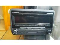 Vw original car dab radio .mp3. cd player