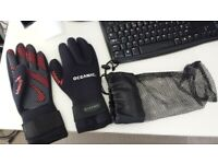 Diving Gloves - OCEANIC MAKO 5 Neoprene 5mm