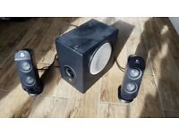 FREE - Logitech 2.1 Speaker Set with Sub-Woofer