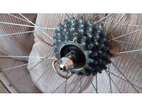 Vintage Campagnolo hups Rigida vintage wheels...