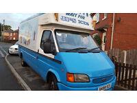 Ice cream van long wheel base