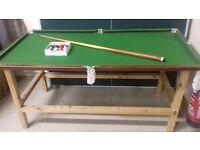 Joe Davies Junior Pool Table Set