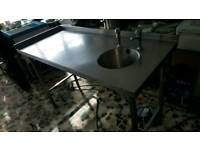 Commercial sink