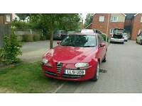 Alfa romeo 147 2.0l 2002 £1000 ono