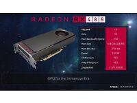 AMD RX 480 8 GB Vram Brand New