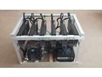 6 x Powerful GeForce RTX Nvidia 2080 Mining Rigs - Easy Crypto Hunter Rig.