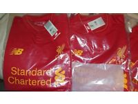 Wholesale Brand New Football Shirts Man Utd Liverpool Arsenal Barcelona x5