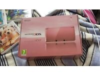 here i am selling a pink ds nintendo, less then a year old, excellent condition