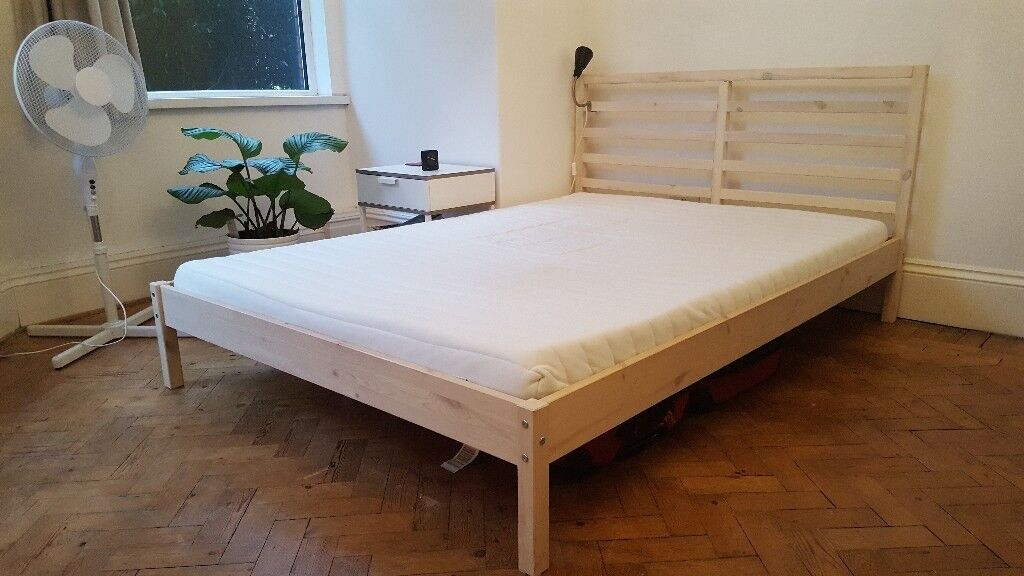 IKEA Double Bed & Mattress