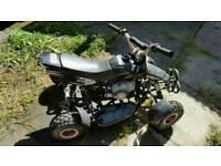 50 cc mini quad with spare parts
