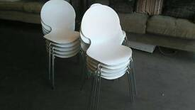 Stackable white chair (more available)
