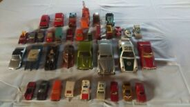 36 Collectable Assorted 1960/1970s Toy Cars For Sale