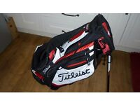 TITLEIST STAND BAG. USED 1 ROUND, STILL HAS PRICE TAG £129.99.