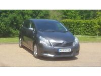 TOYOTA VERSO T2 1598cc 59PLATE 2009 NEWSHAPE 2P/OWNER 107000 MILES VOSA HISTORY 6SPEED 7 SEATER