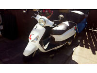 Sym Fiddle ll 125cc Scooter 2011