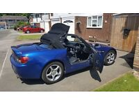 Honda S2000 in Blue, NEW ROOF, REFURBED ALLOYS, Lots of receipts