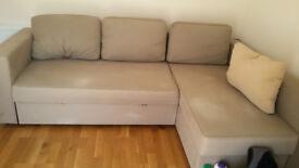 IKEA Manstad, 3 seater chaise longue sofa