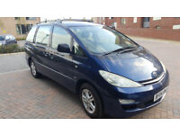 2004 TOYOTA PREVIA 2.0 Diesel, MOT Until 15. Feb. 2018 Full service history, 10 stamps, NEW CAMBELT