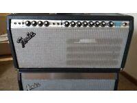 1979 Fender Silverface Vibrosonic Head, Very good condition.