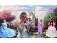 PRINCESS ENTERTAINER for PARTIES AND APPEARANCES as ANNA ARIEL MERMAID RAPUNZEL ELSA PARTY